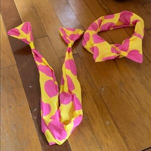 Wrap bow headband